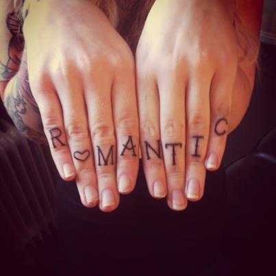 Tatuaje romántico