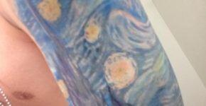 Tattoo Van Gogh