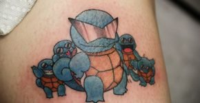 Pokemons tattoos