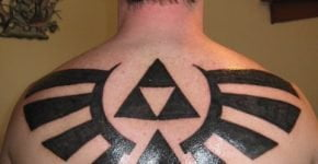Triforce tattoo