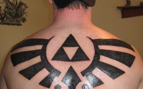Triforce tattoo