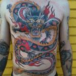 Globo tatuado