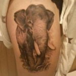 Tatuaje de la Princesa Mononoke