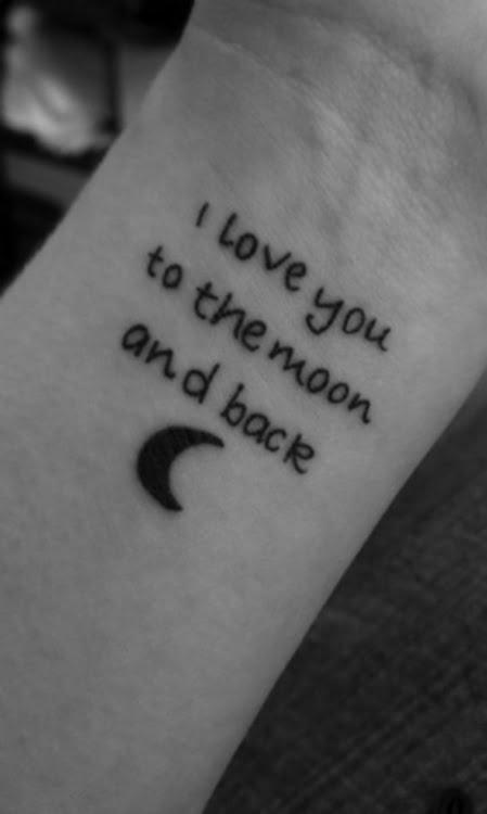 moon tattoo