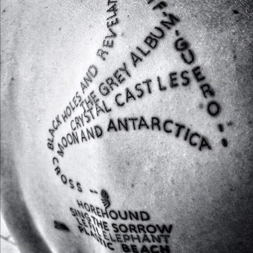 Tattoo fonógrafo