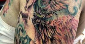 Tatuaje de un pegaso