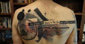 Tatuaje Xoil espalda