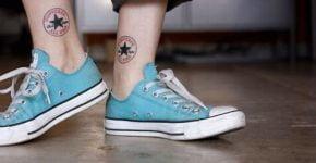 Converse tatuados