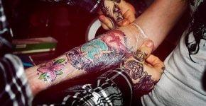 Tatuaje terminado