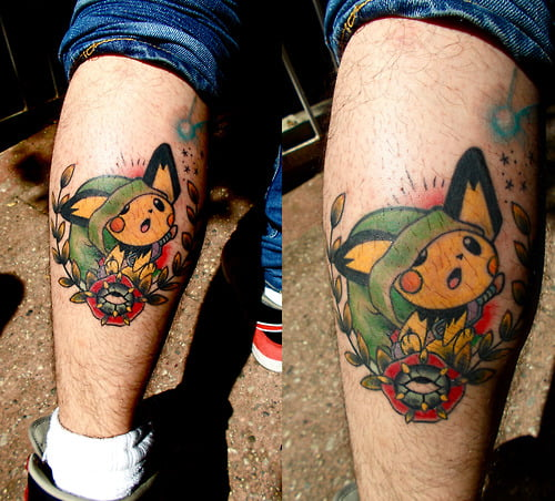 tatuajes pokemon