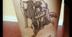 Princess Mononoke tattoo