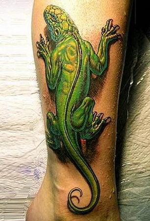 Iguana Tattoo