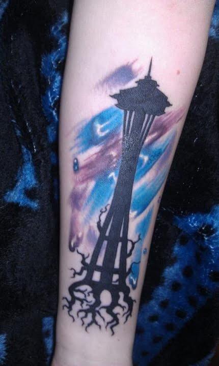 Seattle tatuaje
