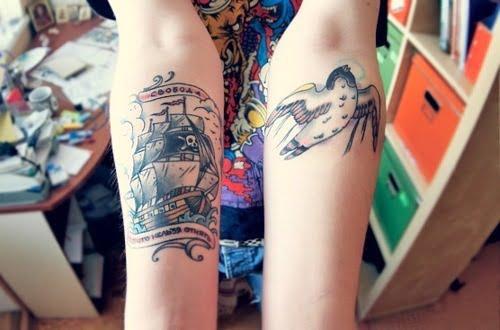 tatuajes en antebrazos