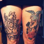 tatuajes en muslos