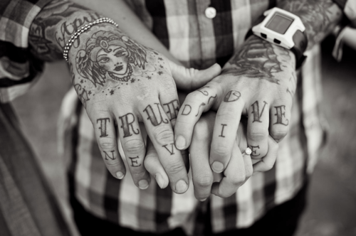 Parejas tatuadas enamoradas tumblr imagui for True love tattoos
