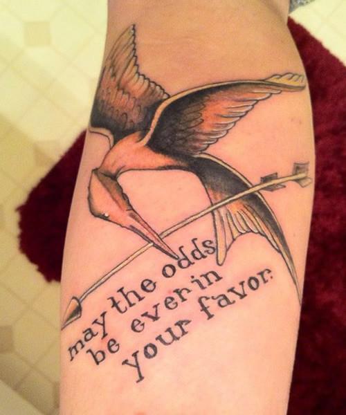 Juegos del Hambre tatuaje