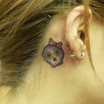 Tatuaje mandala matemático