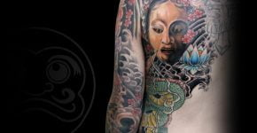Tatuaje espalda hombre
