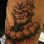 Tatuaje libelula conceptual