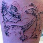 Tatuaje huella de mano