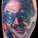 Ciudad tatuada en la espalda