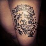 Tatuaje pareja de calaveras