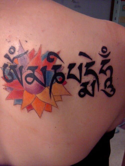Tatuaje Mani Mantra