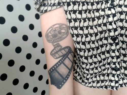 Tatuaje amantes del cine