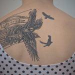 Tatuaje de una estrella de navegación