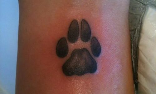 footprint tattoo