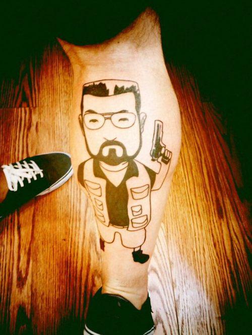 hitman tattoo