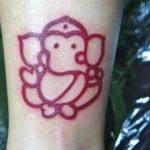 Tatuaje en el reverso del brazo