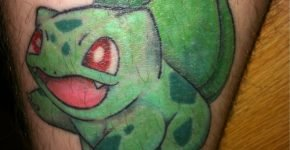 Bulbasaur tattoo