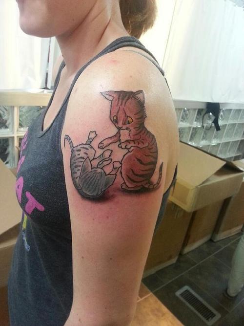 kitten tattoos