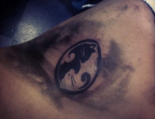 Tattoo Ying Yang Cat