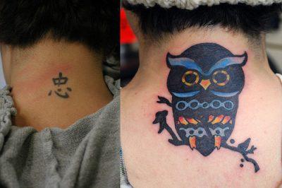 Corrección de tatuajes