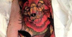 tatuaje zorro por Dedo Hangman