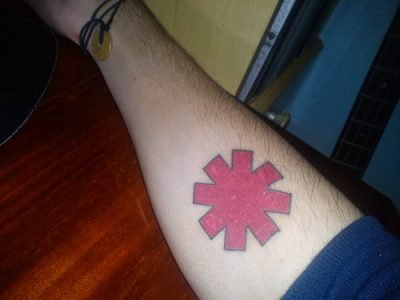 Tatuaje RHCP