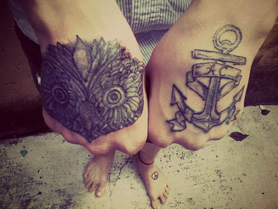 Tatuaje Ancla En La Mano Significado Sfb