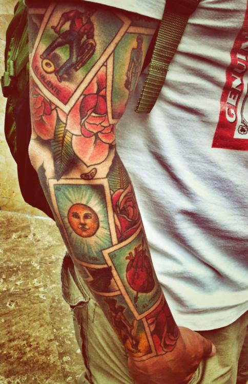 Tatuaje de la Lotería