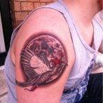 Tatuaje barco con sirenas