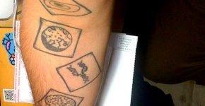 La ecuación de Drake en tatuaje