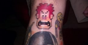 Tatuaje Ralph el Demoledor