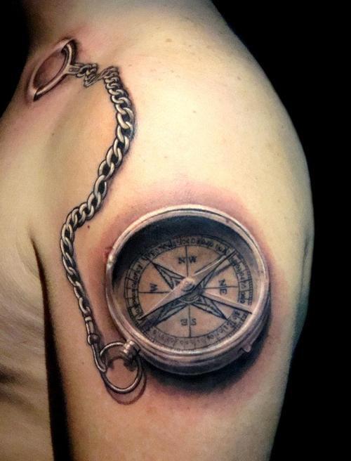 brújulas tatuadas