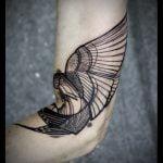 Tatuaje de elefante pequeño