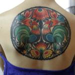 Tatuaje de un cangrejo y cranejo