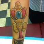 Tatuaje de volver al futuro