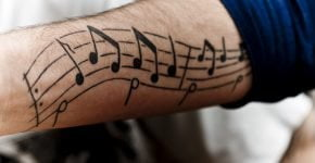 Musical tattoos
