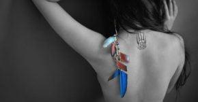 Pentagrama tatuado